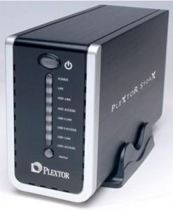 Test du Nas StorX de Plextor