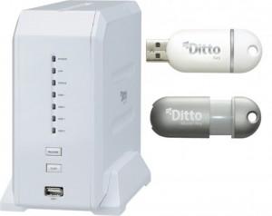 Nas Princeton avec accès à distance par clé USB
