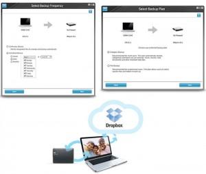 Intégration de Dropbox dans le programme WD SmartWare Pro