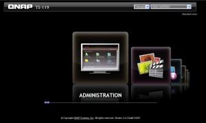 interface-nas-qnap-ts119